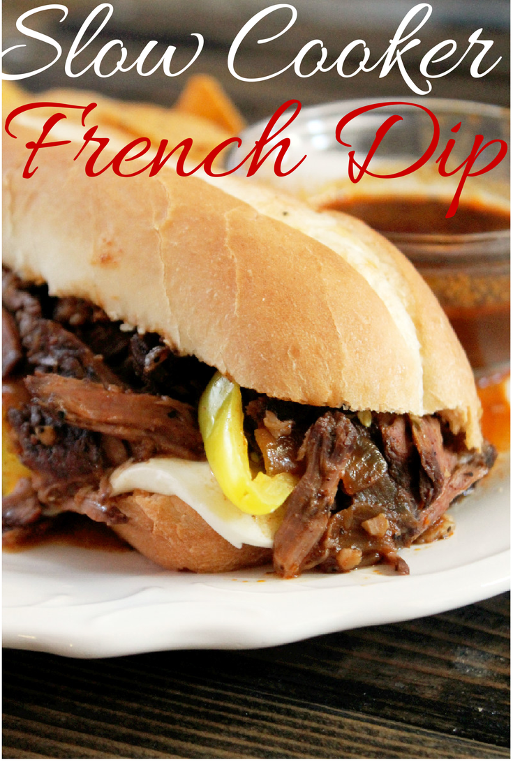 Slow Cooker French Dip Sandwich-Creole Contessa