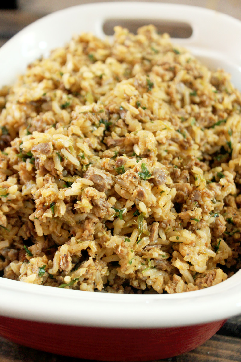 Baby Girl's Dirty Rice - Creole Contessa