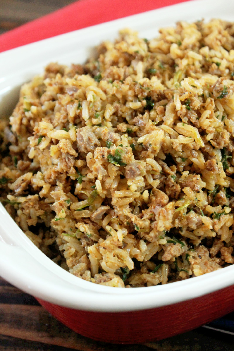 Baby Girl's Dirty Rice-Creole Contessa