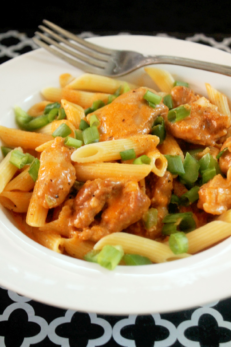 Cajun Chicken Alfredo-Creole Contessa