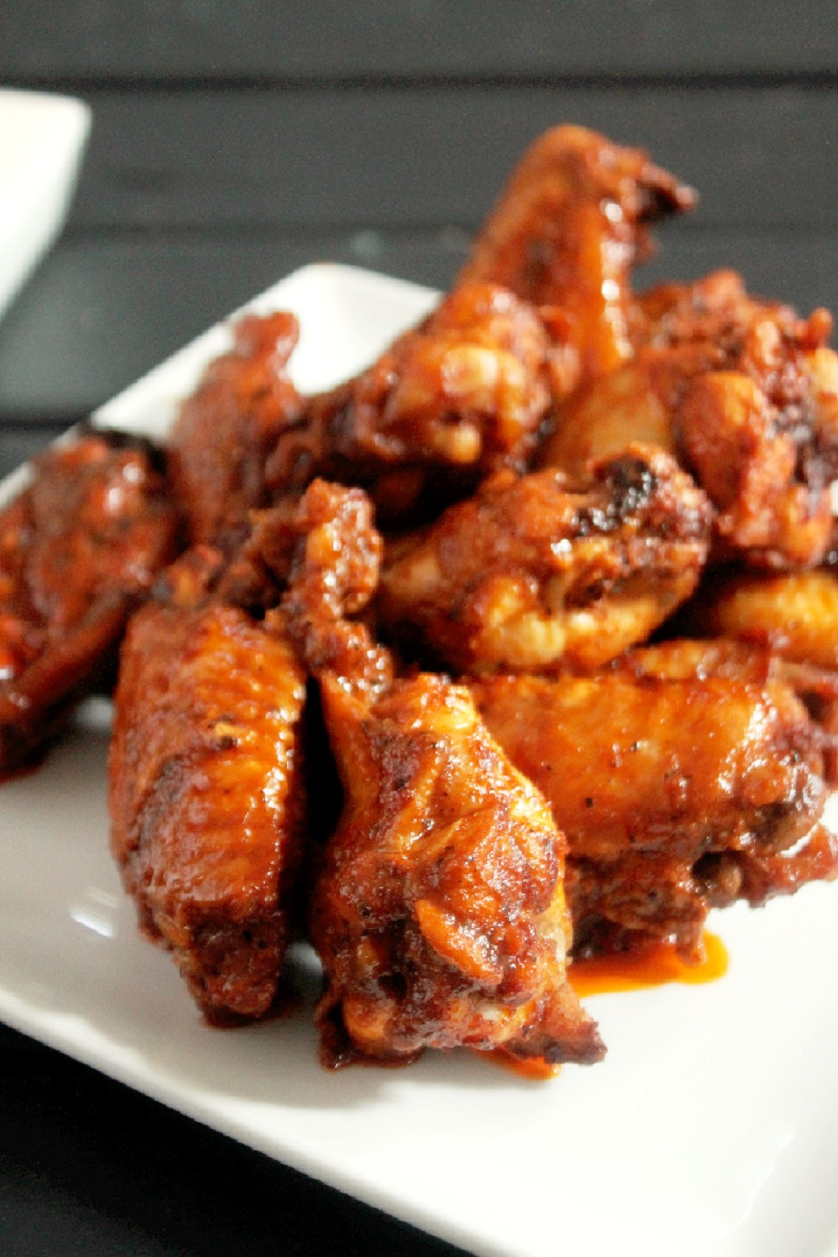 Spicy Baked Hot Wings-Creole Contessa