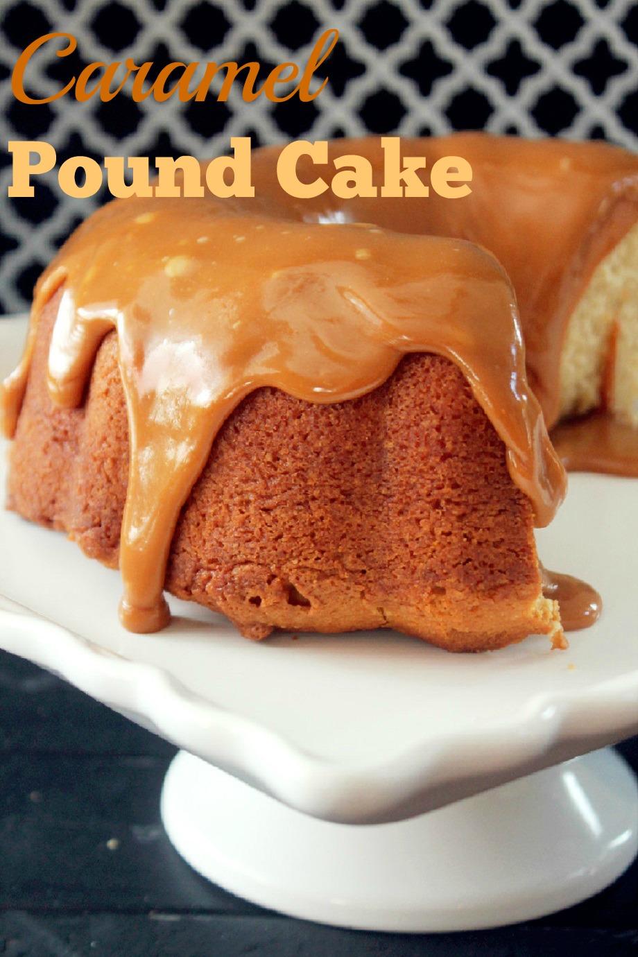 Caramel Pound Cake-Creole Contessa