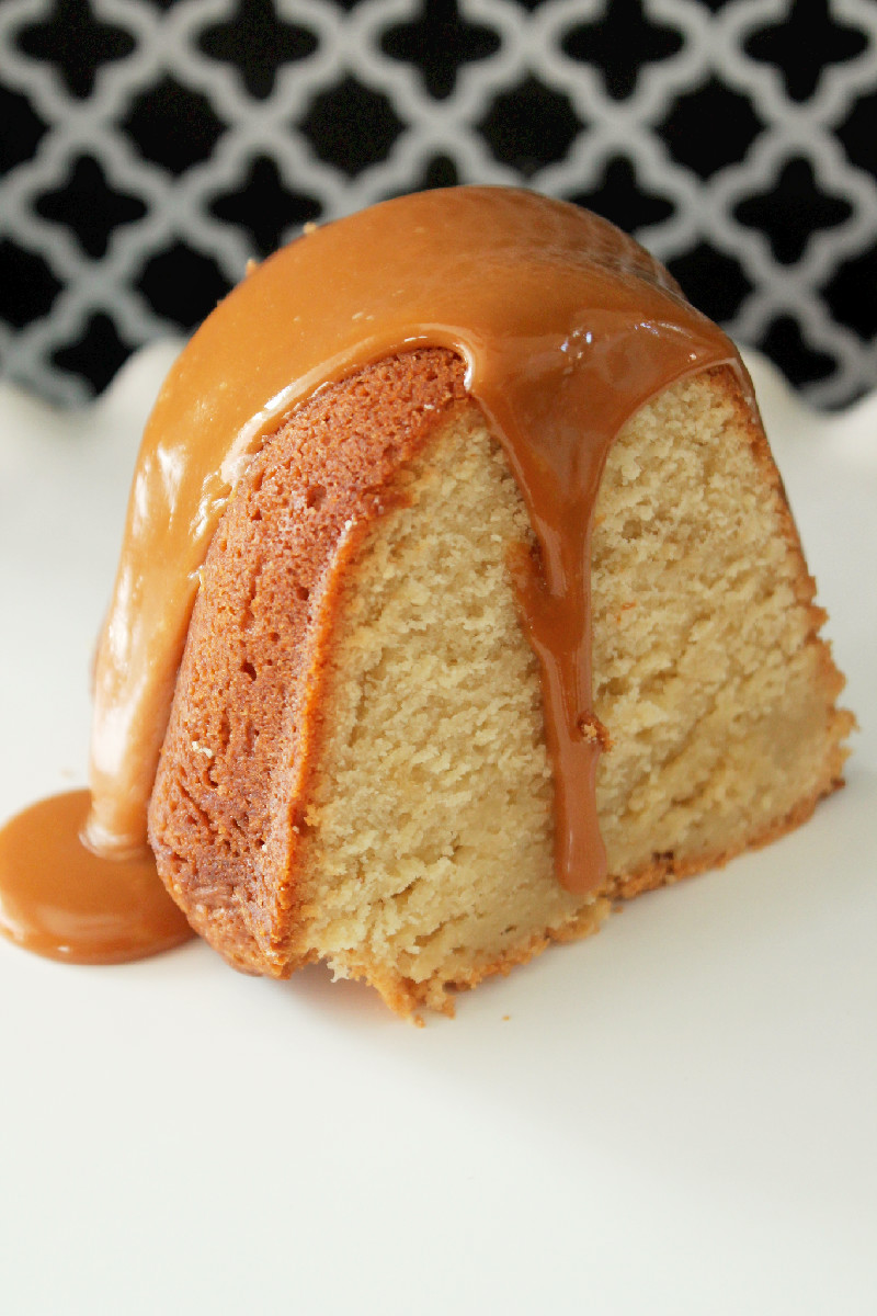 Recipe For Caramel Cake Using Cake Mix