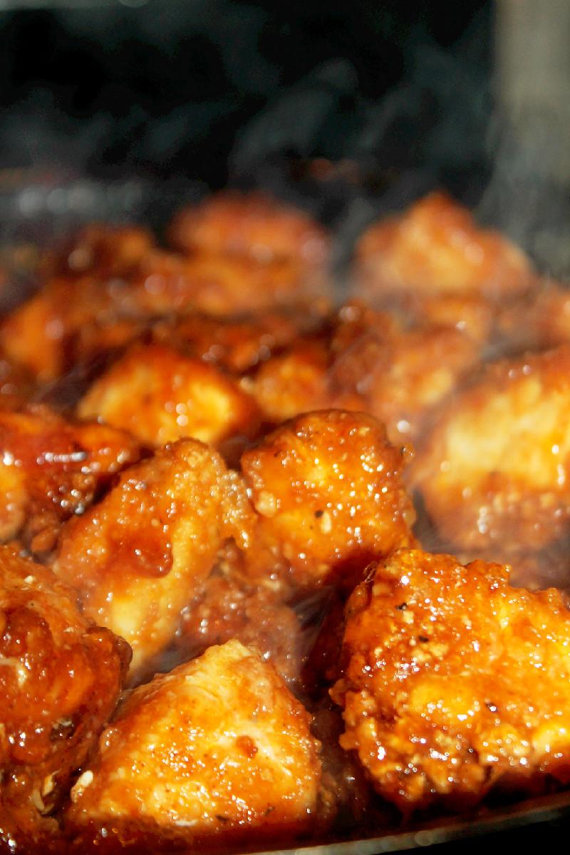 Pan fried garlic chicken breast recipe