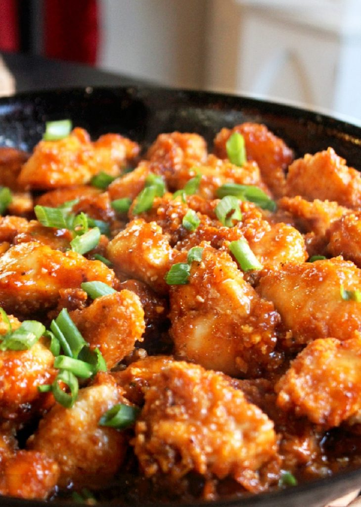 Honey Garlic Chicken-Creole Contessa