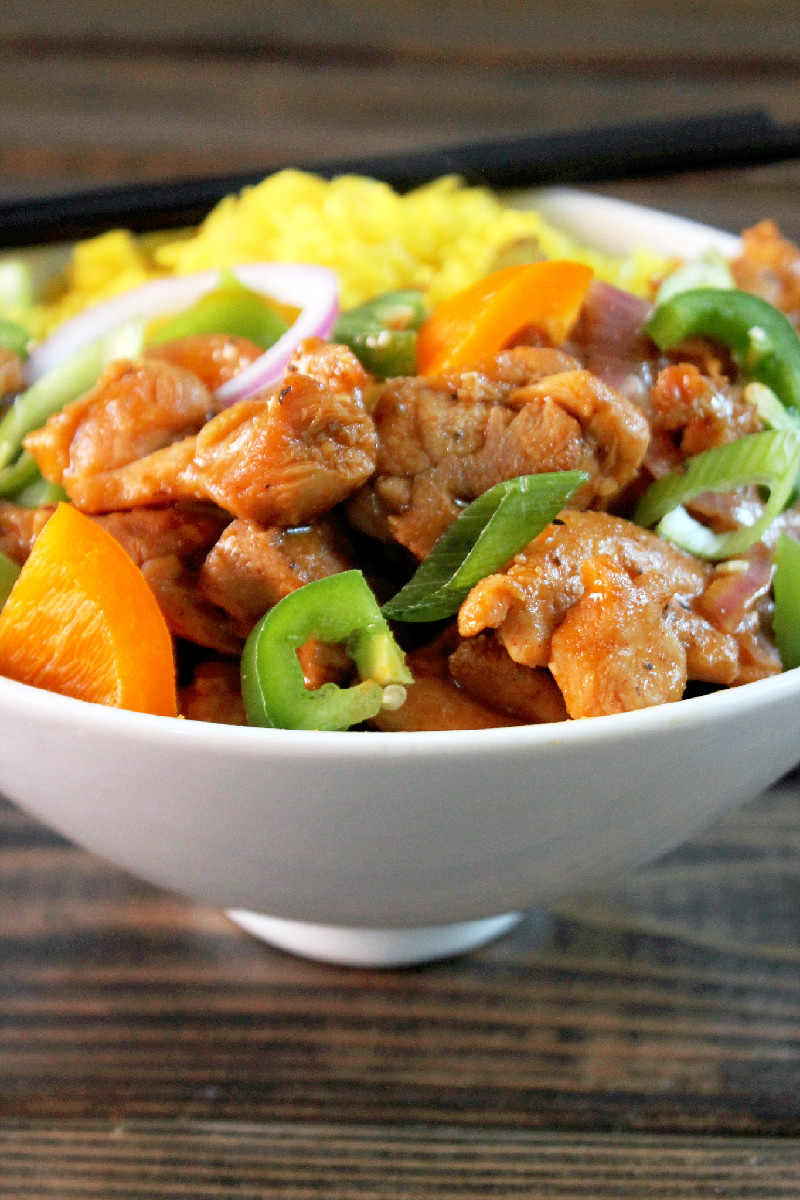 Panda Express Black Pepper Chicken Copycat-Creole Contessa