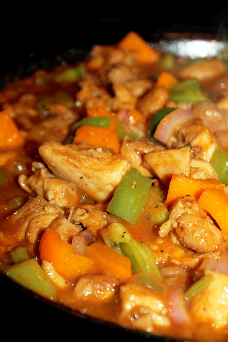 Panda Express Black Pepper Chicken Copycat Recipe - Sweet ...  |Panda Express Black Pepper Chicken