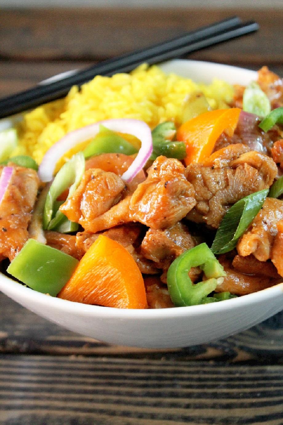 Black Pepper Chicken Recipe — Dishmaps