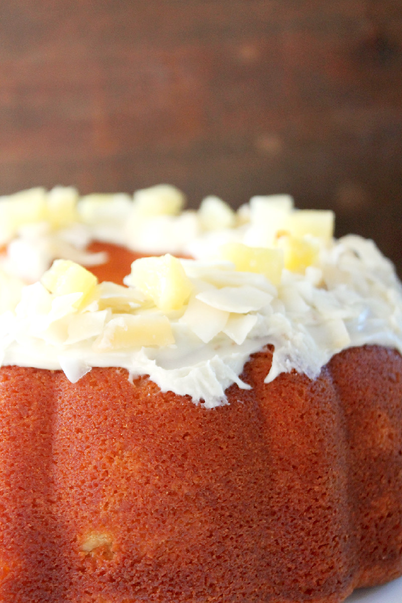 Pina Colada Cake-Creole Contessa