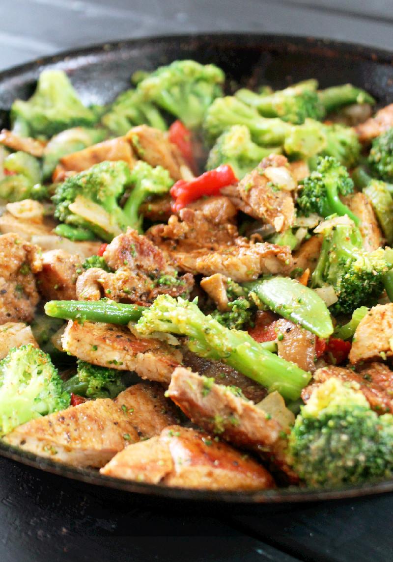 Pork Stir Fry-Creole Contessa