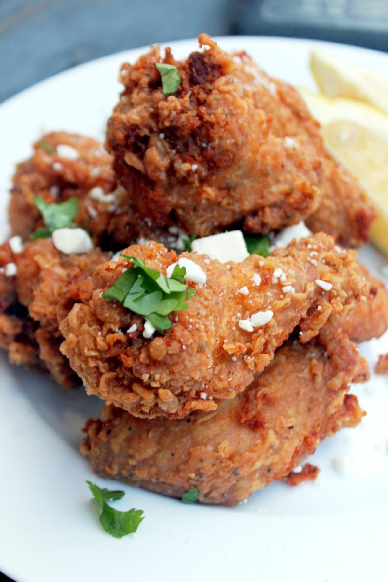 Greek Fried Chicken-Creole Contessa