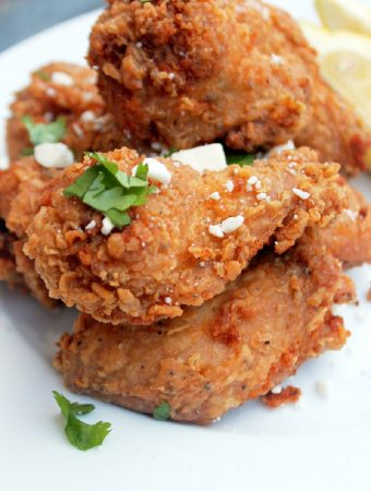 Greek Fried Chicken-Creole Contessa