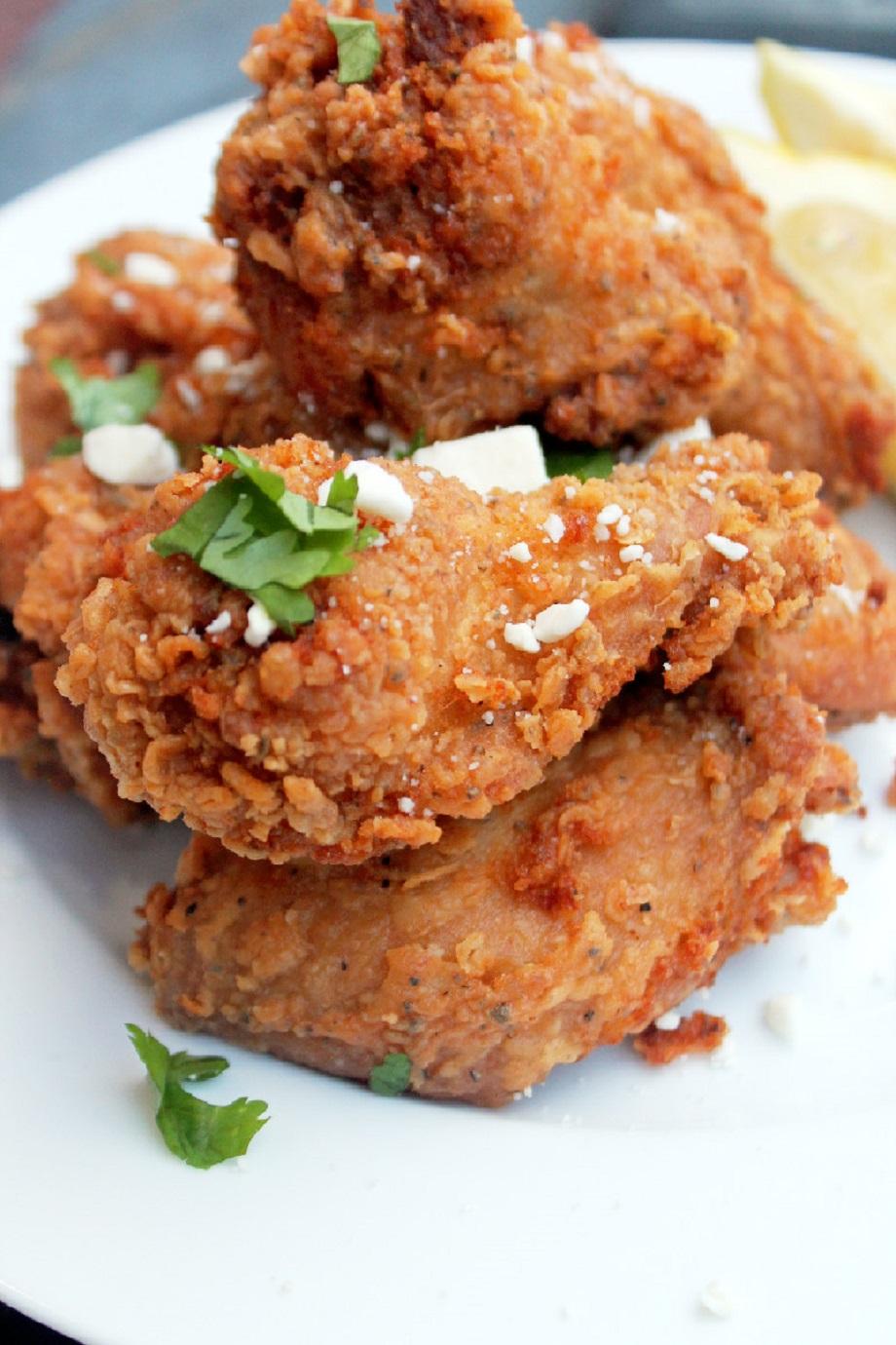 Greek Fried Chicken