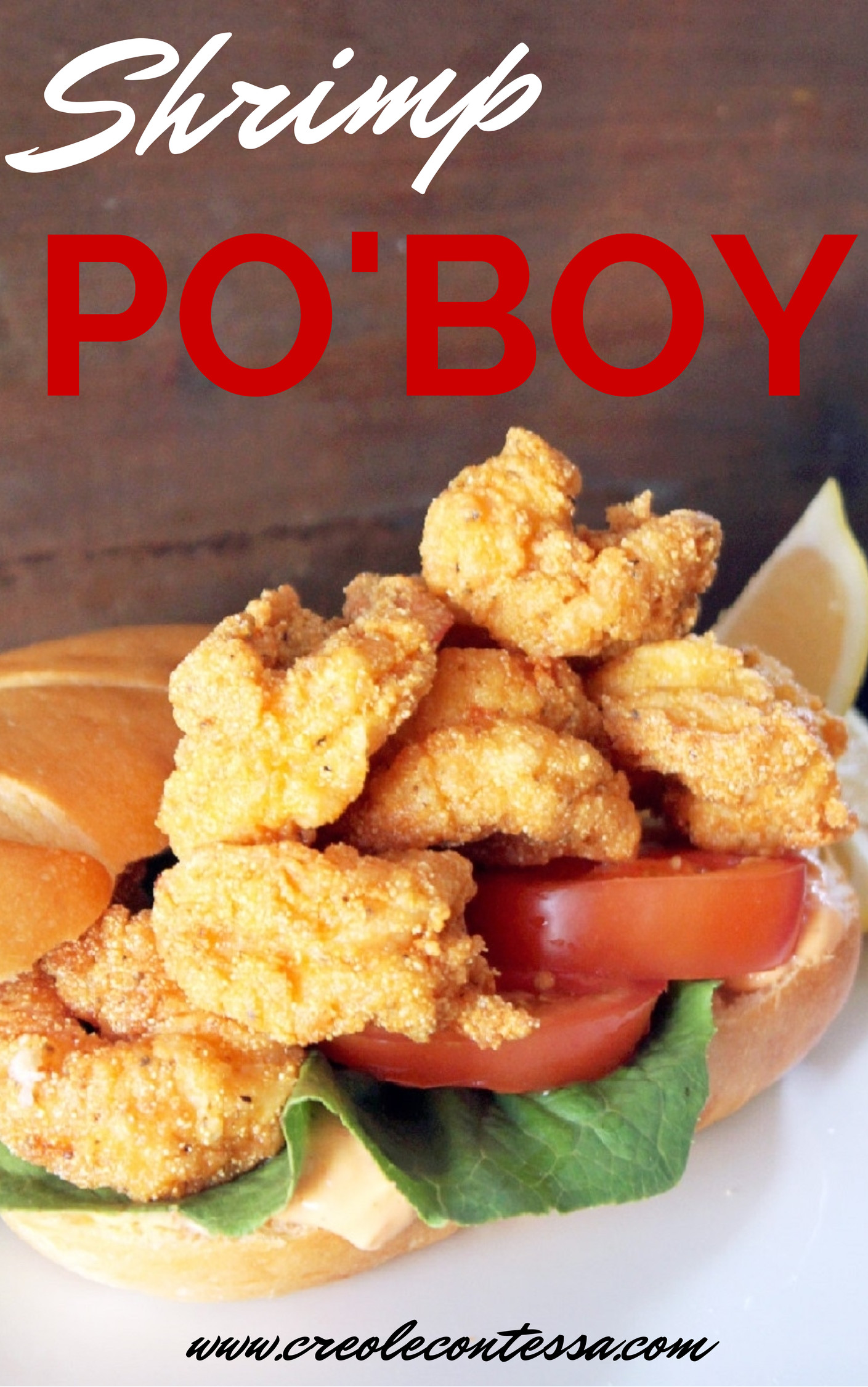Shrimp Po Boy-Creole Contessa