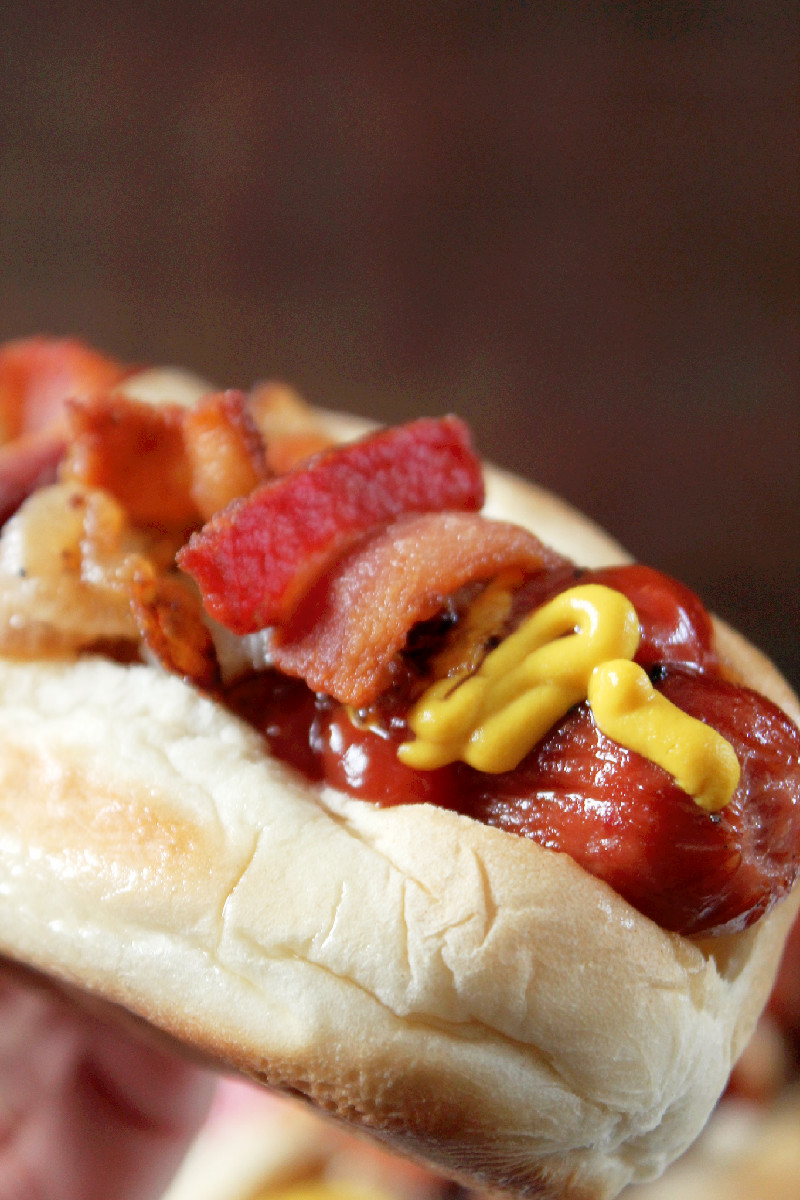 Bacon Hot Dogs-Creole Contessa