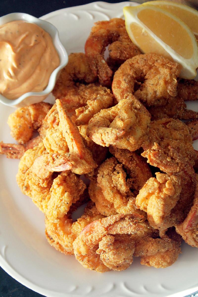 Creole Fried Shrimp-Creole Contessa
