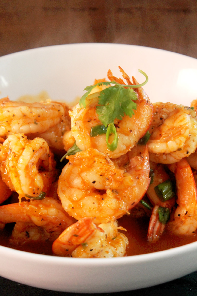 Red Curry Shrimp - Creole Contessa