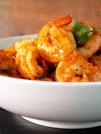 Red Curry Shrimp-Creole Contessa