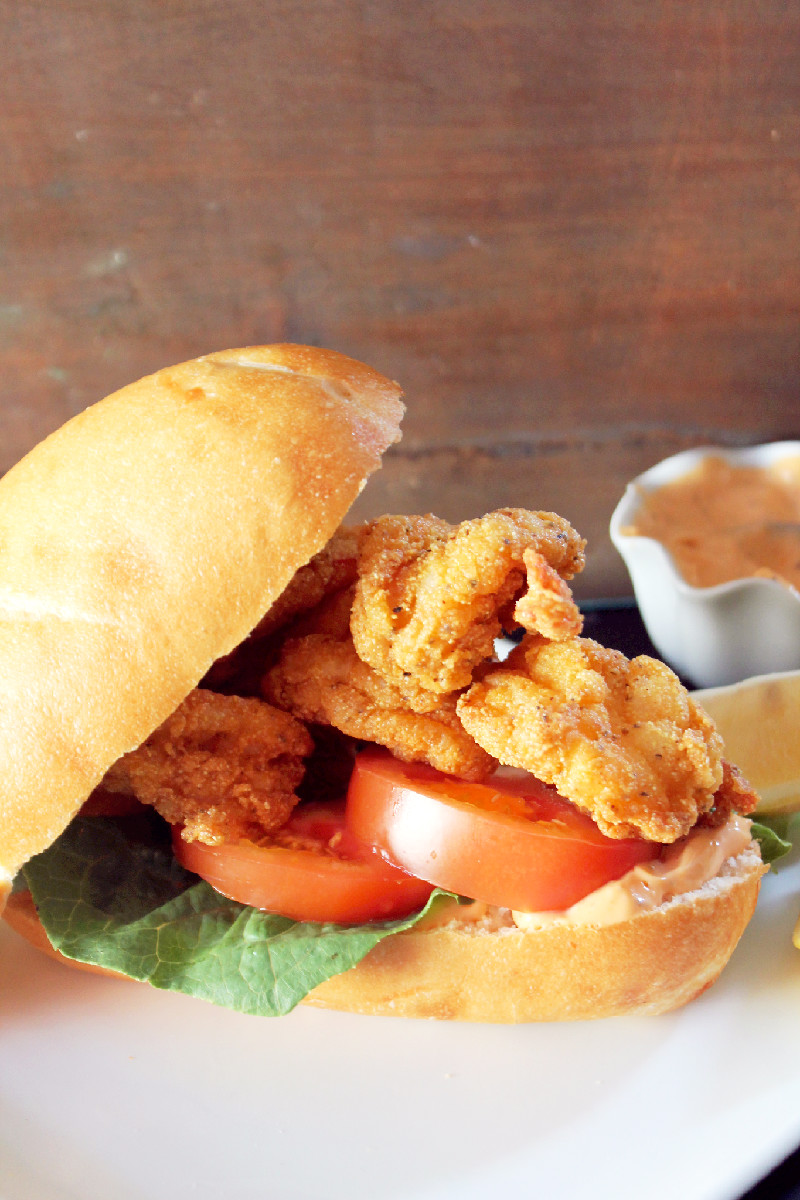 Shrimp Po Boy-Creole Contessa