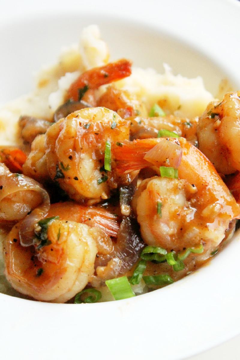 Shrimp Scampi - Creole Contessa