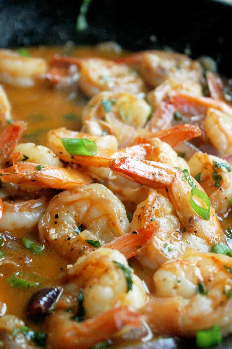 Shrimp Scampi-Creole Contessa