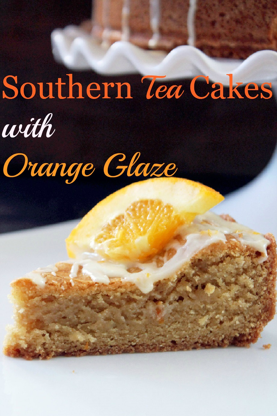 Tea Cake with Orange Glaze-Creole Contessa