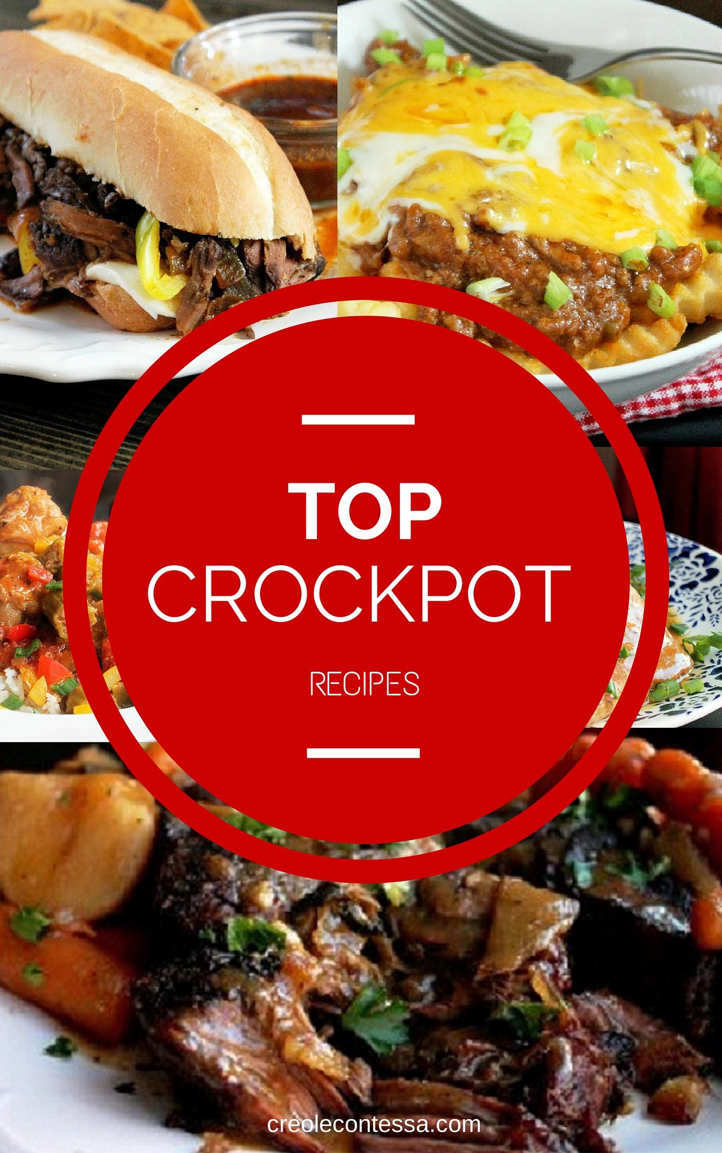 Top Crock Pot Recipes-Creole Contessa