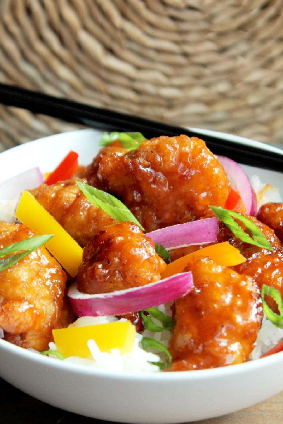 Orange Chicken-Creole Contessa