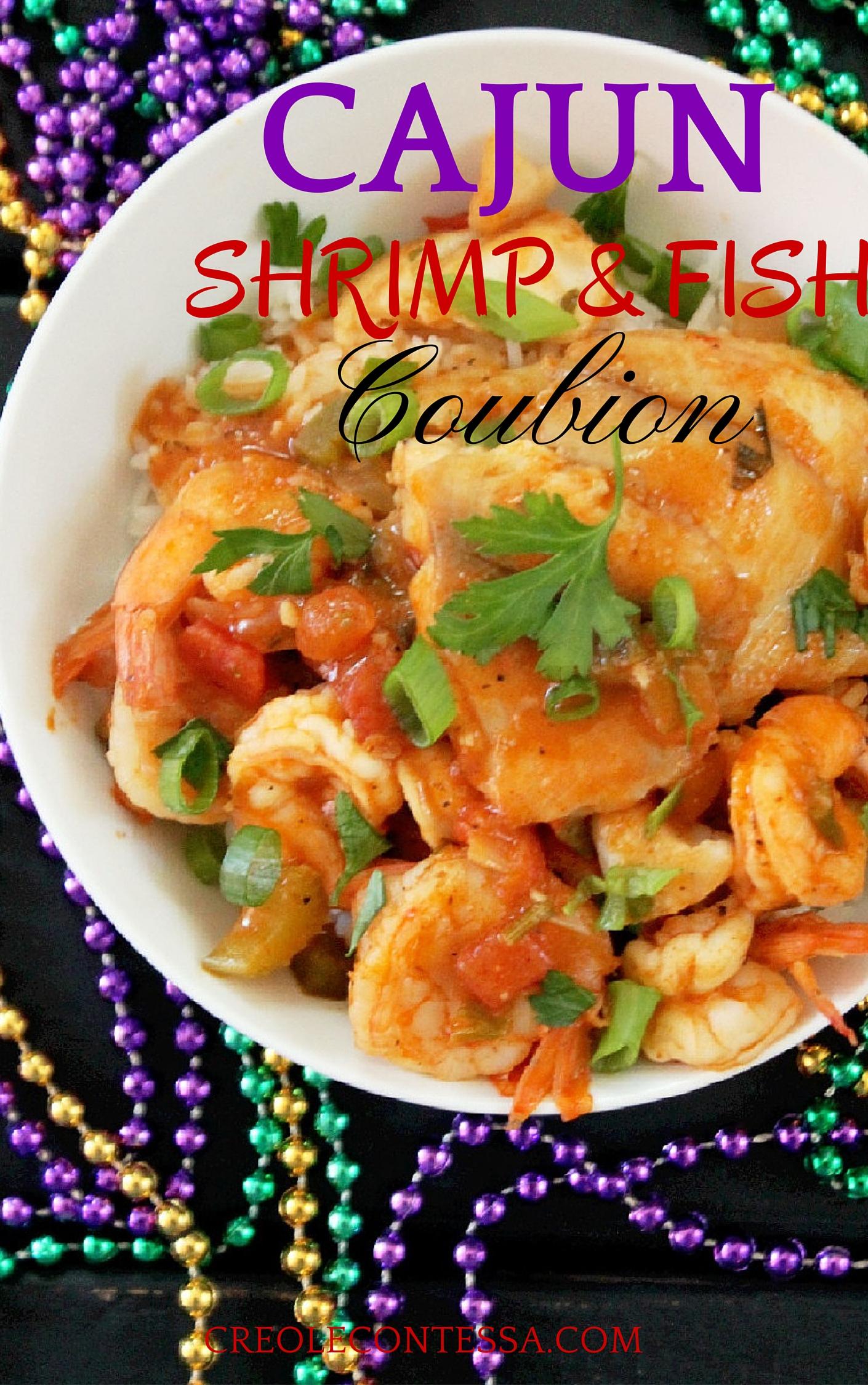 Cajun Shrimp Coubion with Fish-Creole Contessa
