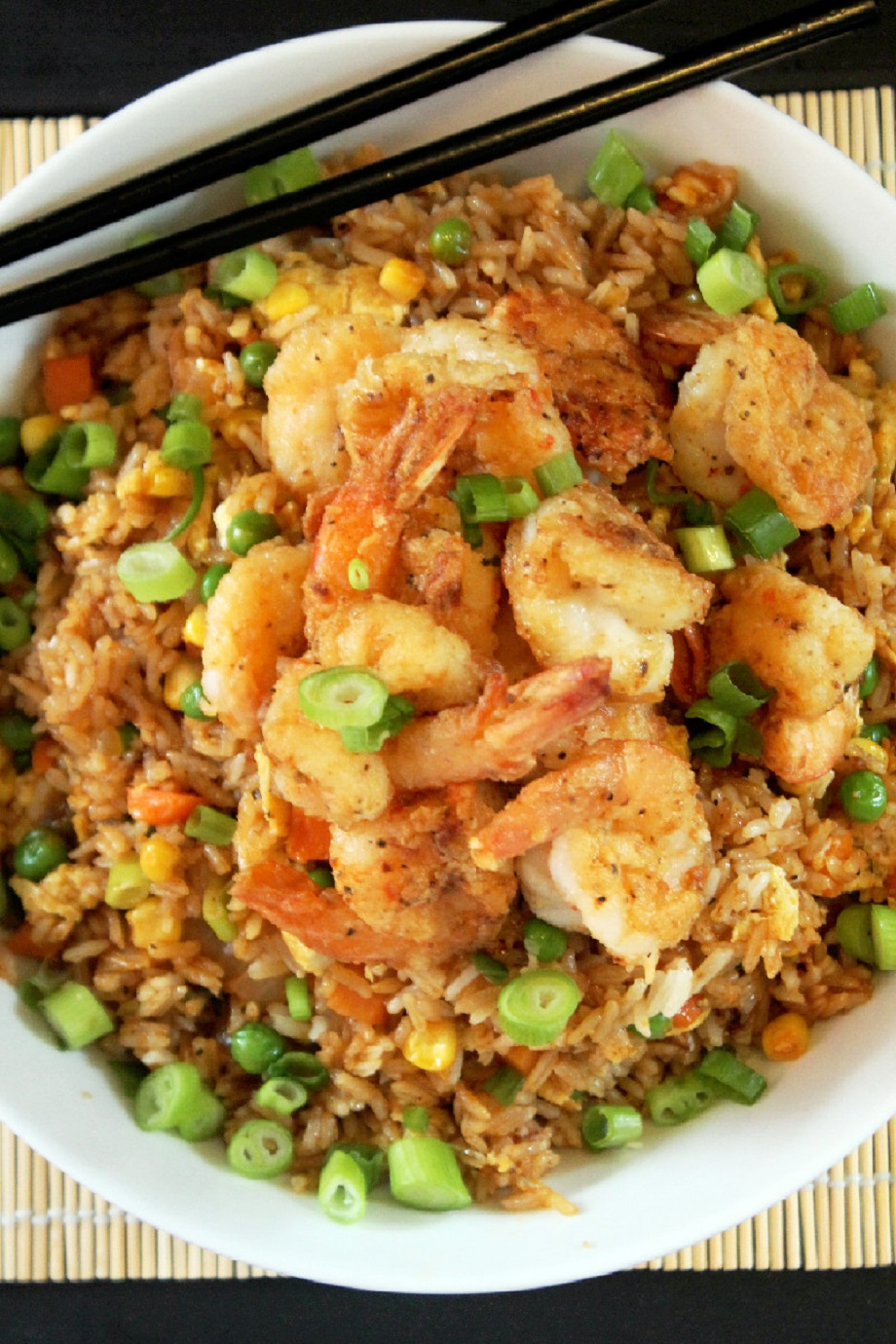 Chinese Style Shrimp Fried Rice-Creole Contessa