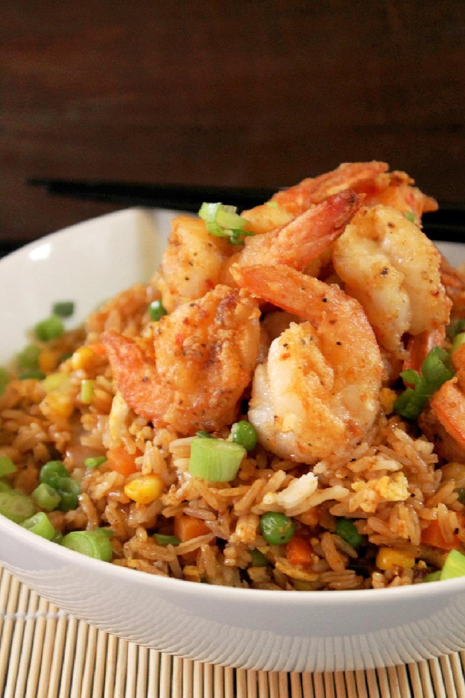 Chinese Style Shrimp Fried Rice-Creole Contessa
