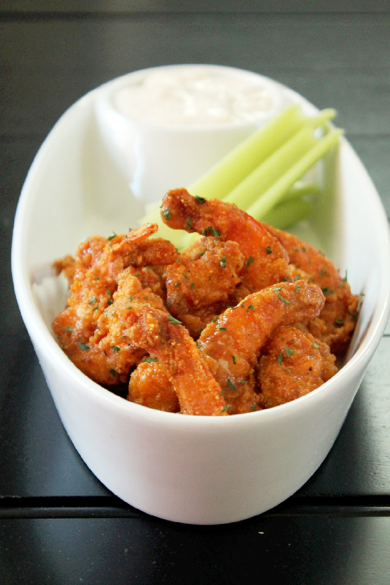 Copycat Hooters Buffalo Shrimp-Creole Contessa