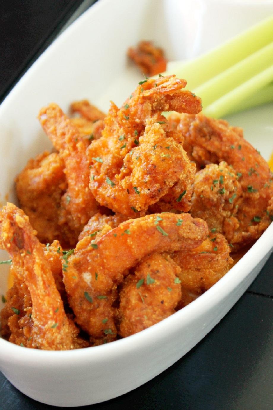 ... is roasted buffalo shrimp on caesar salad oven roasted buffalo shrimp