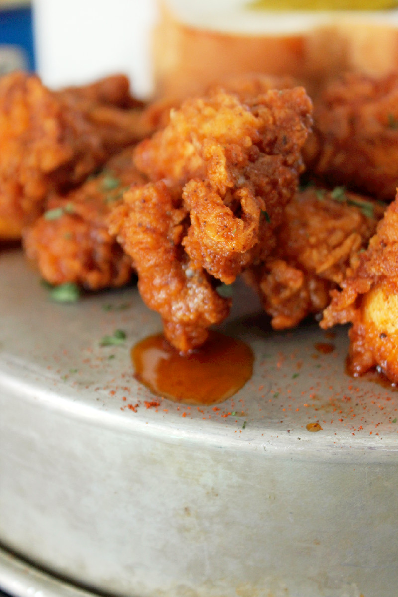 Nashville Hot Chicken Nuggets-Creole Contessa