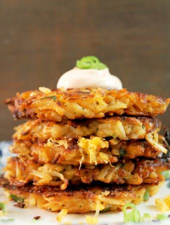 Potato and Cheese Latkes-Creole Contessa