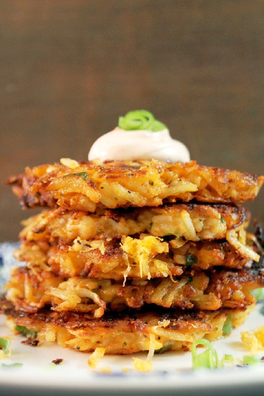 Potato and Cheese Latkes - Creole Contessa