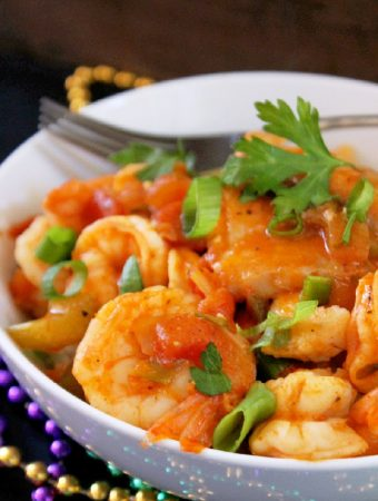 Cajun Shrimp Coubion with Fish
