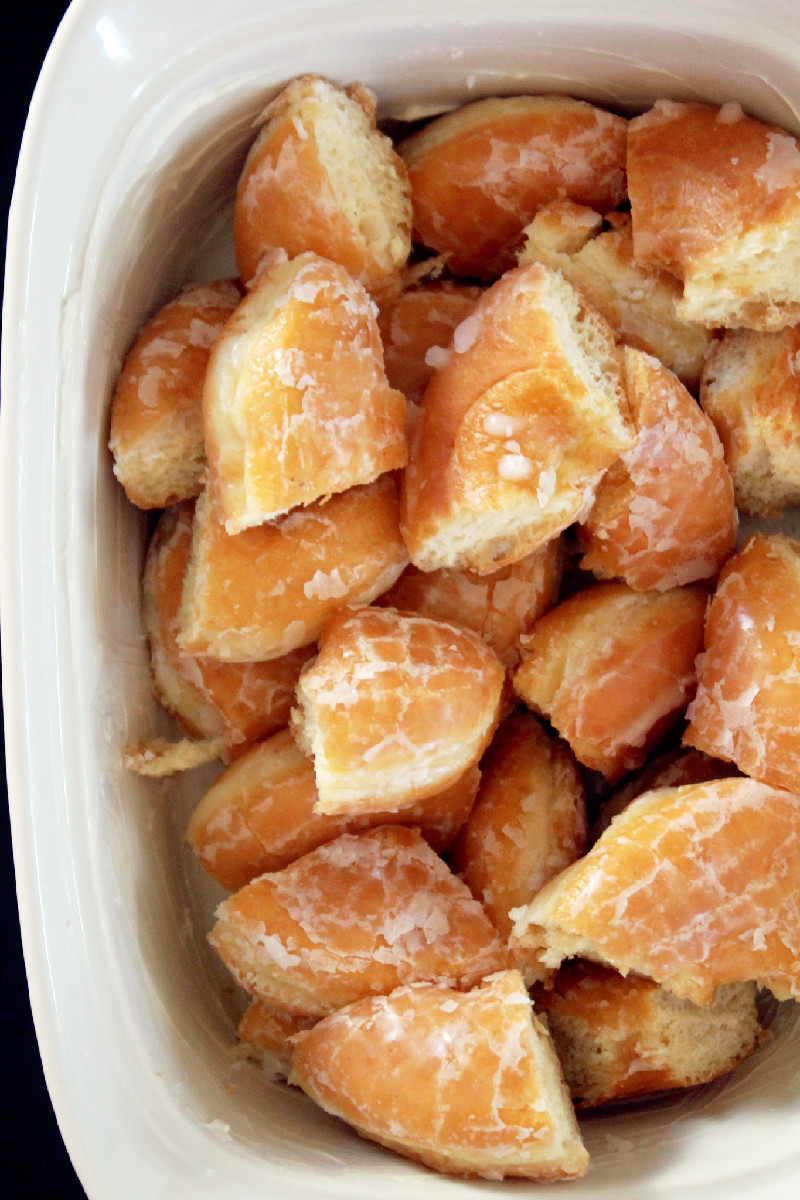 Butter Pecan Bread Pudding with Cream Cheese Glaze-Creole Contessa
