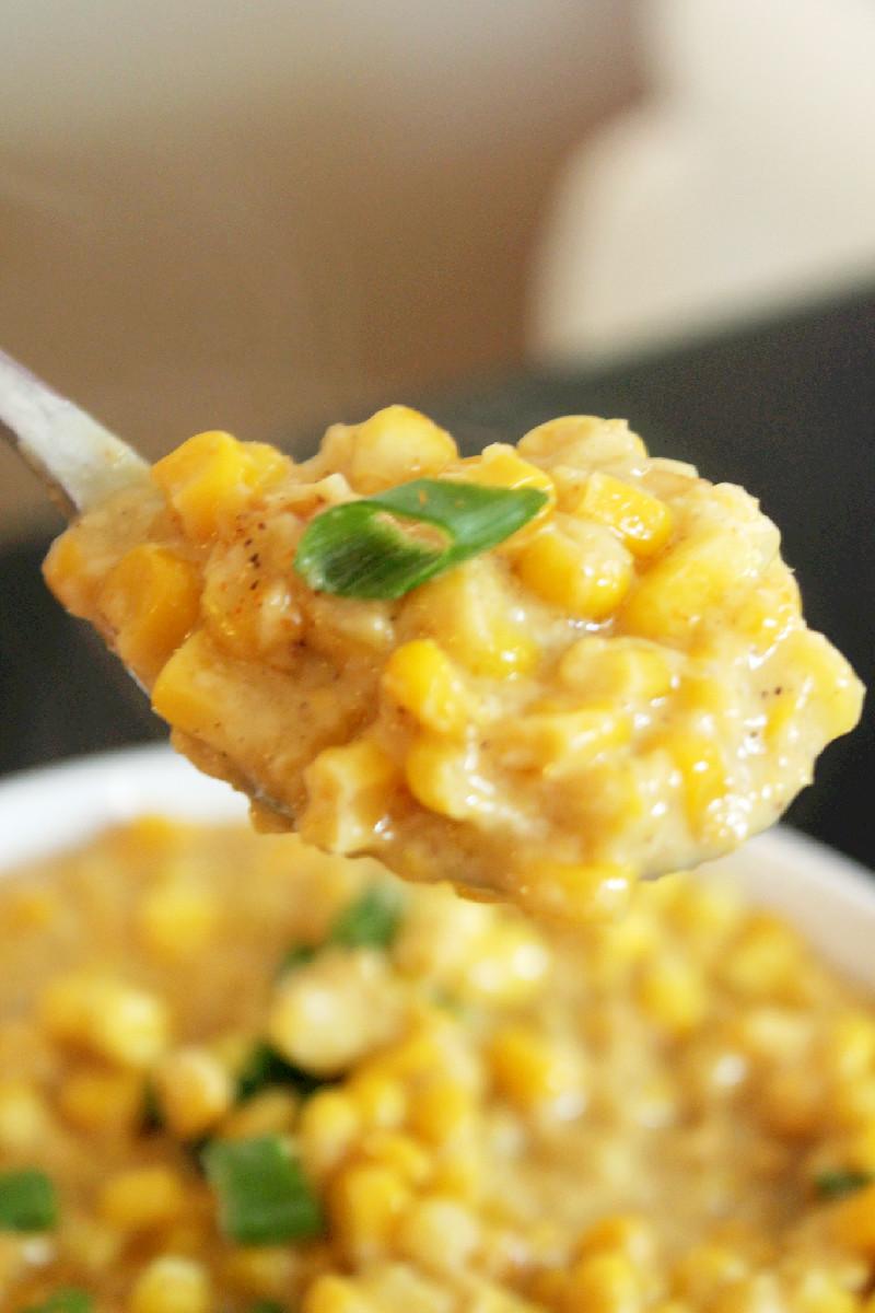 Creole Creamed Corn-Creole Contessa