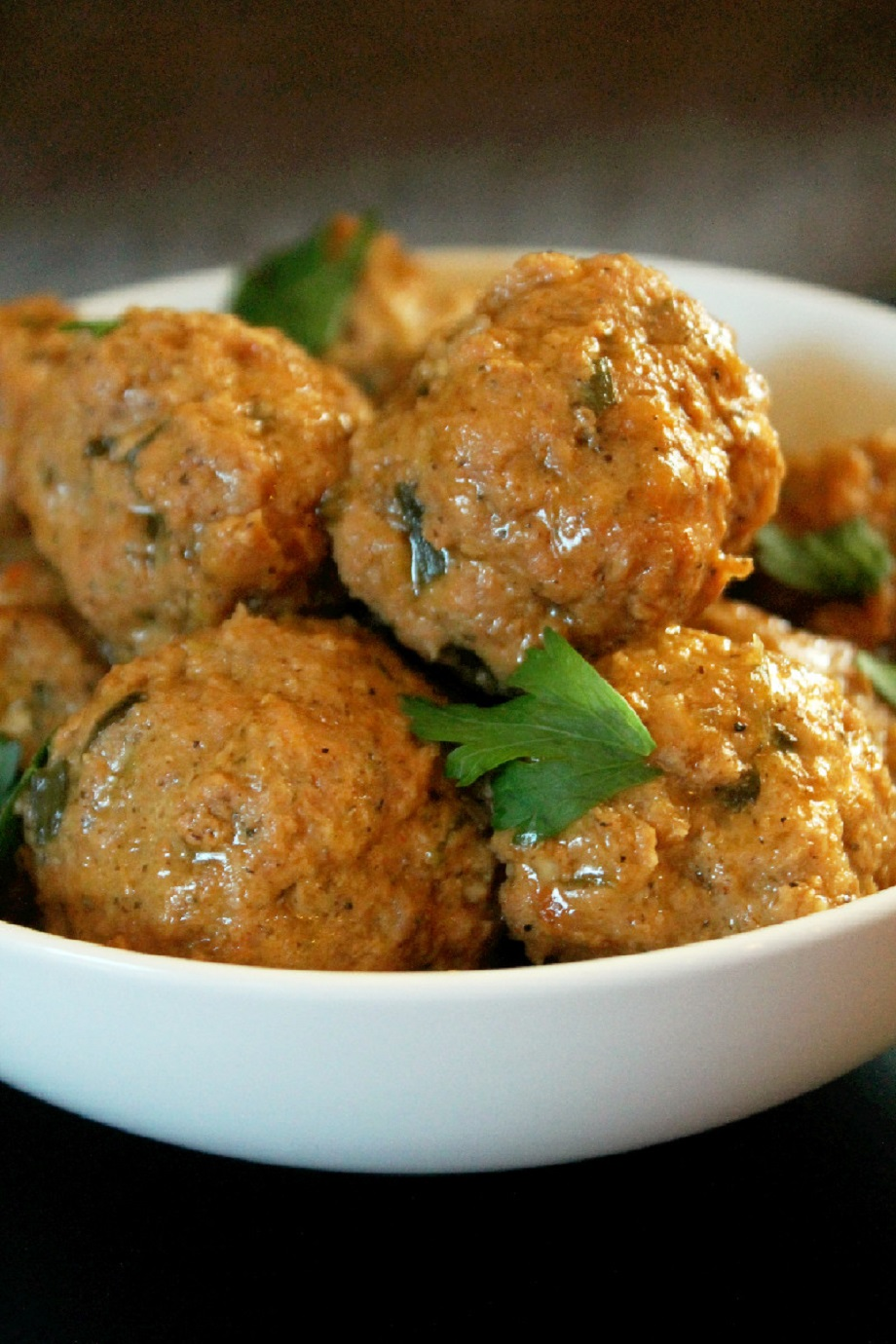 Slow Cooker Meatballs and Gravy