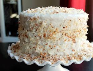 Toasted Pineapple Coconut Cake-Creole Contessa