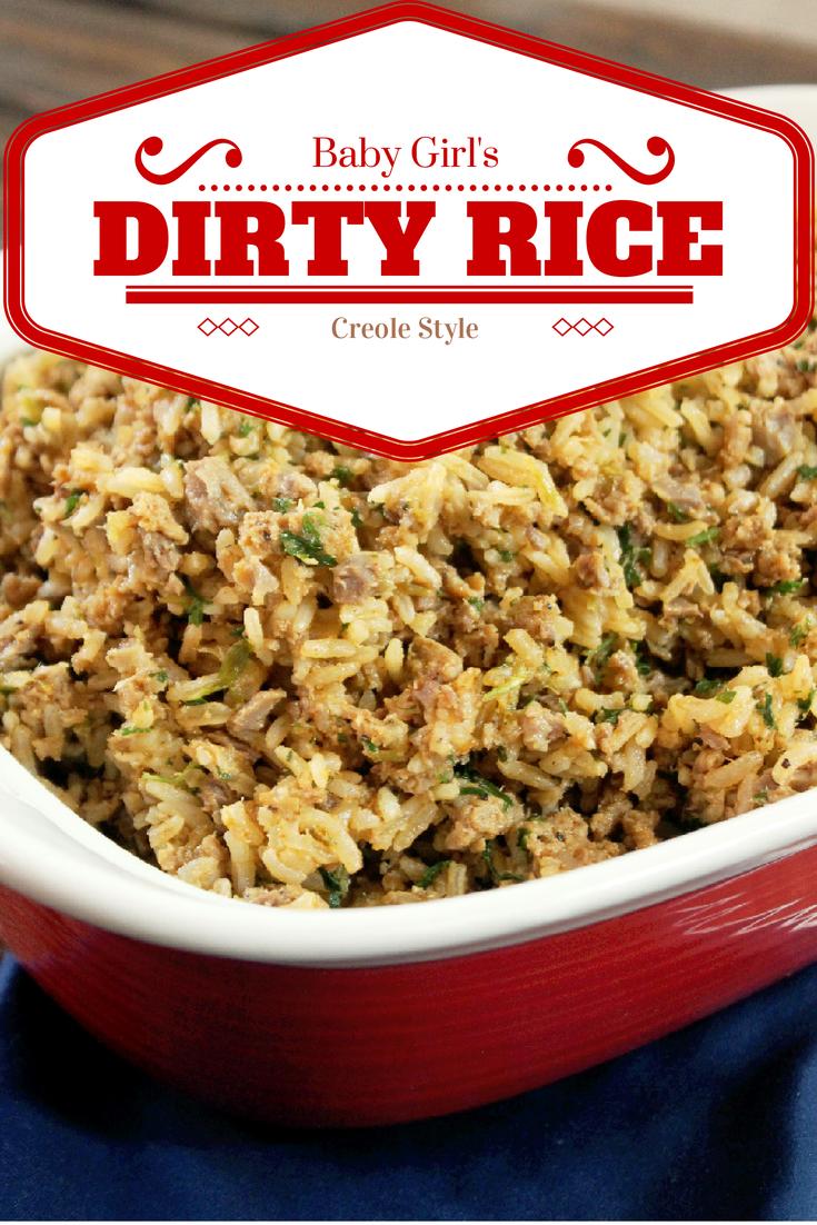 Baby Girls Dirty Rice-Creole Contessa