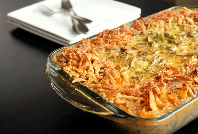 French Green Casserole-Creole Contessa
