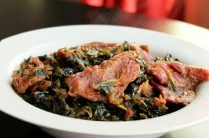 Creole Collard Greens with Smoked Turkey-Creole Contessa