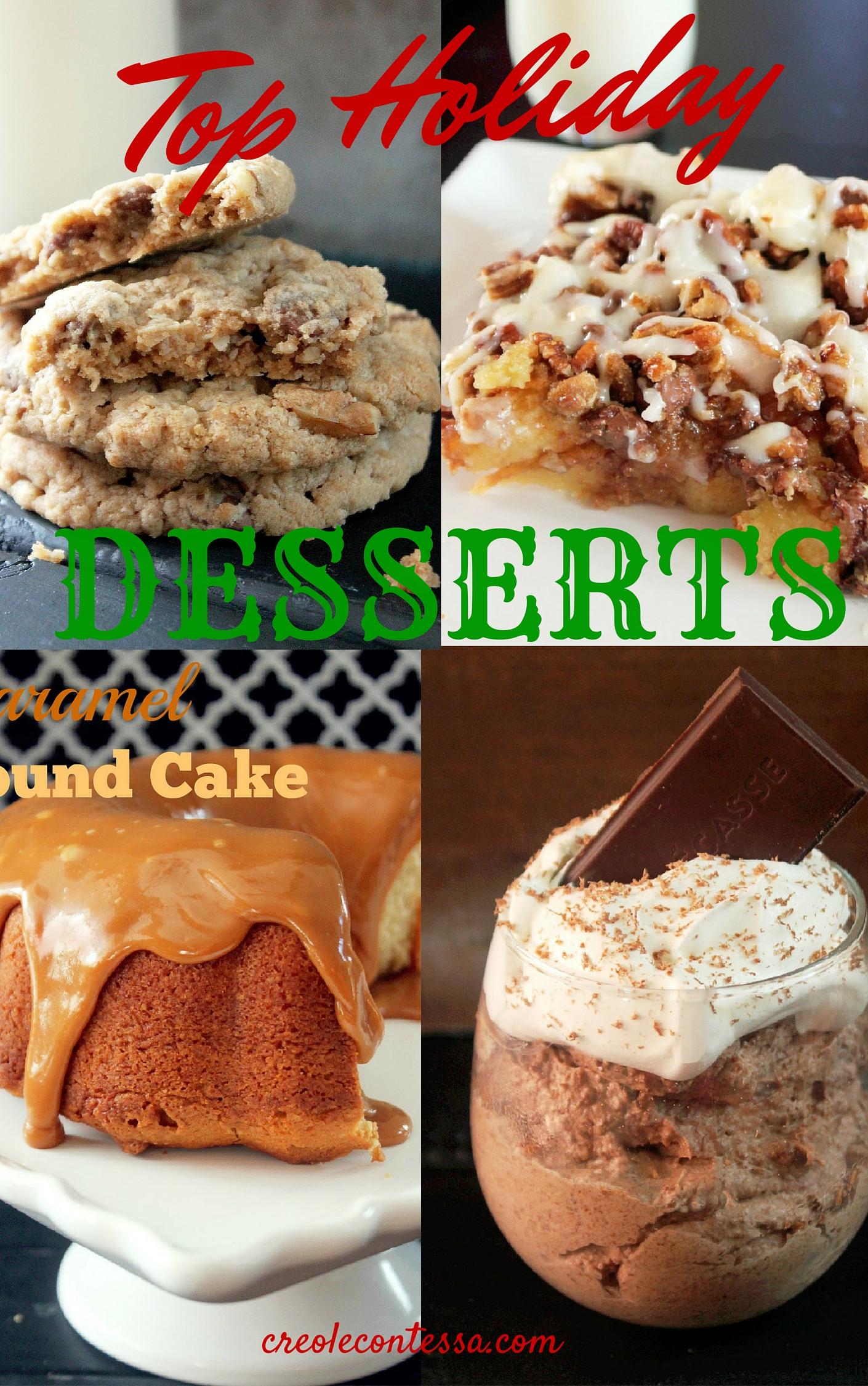 Holiday Desserts-Creole Contessa