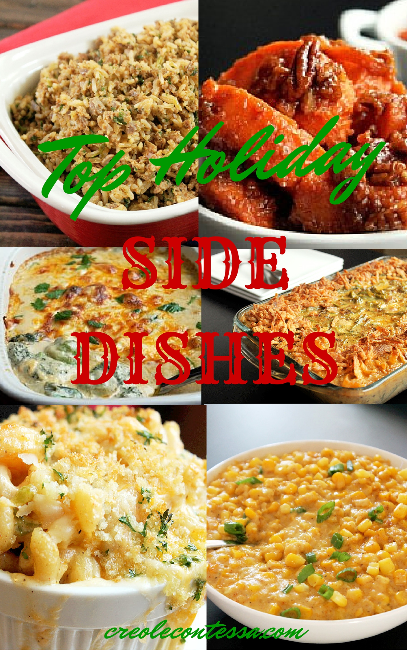 Top Holiday Side Dishes-Creole Contessa