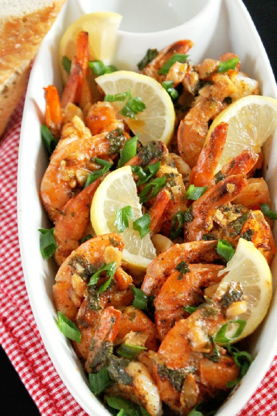 Paprika Shrimp with Roasted Garlic