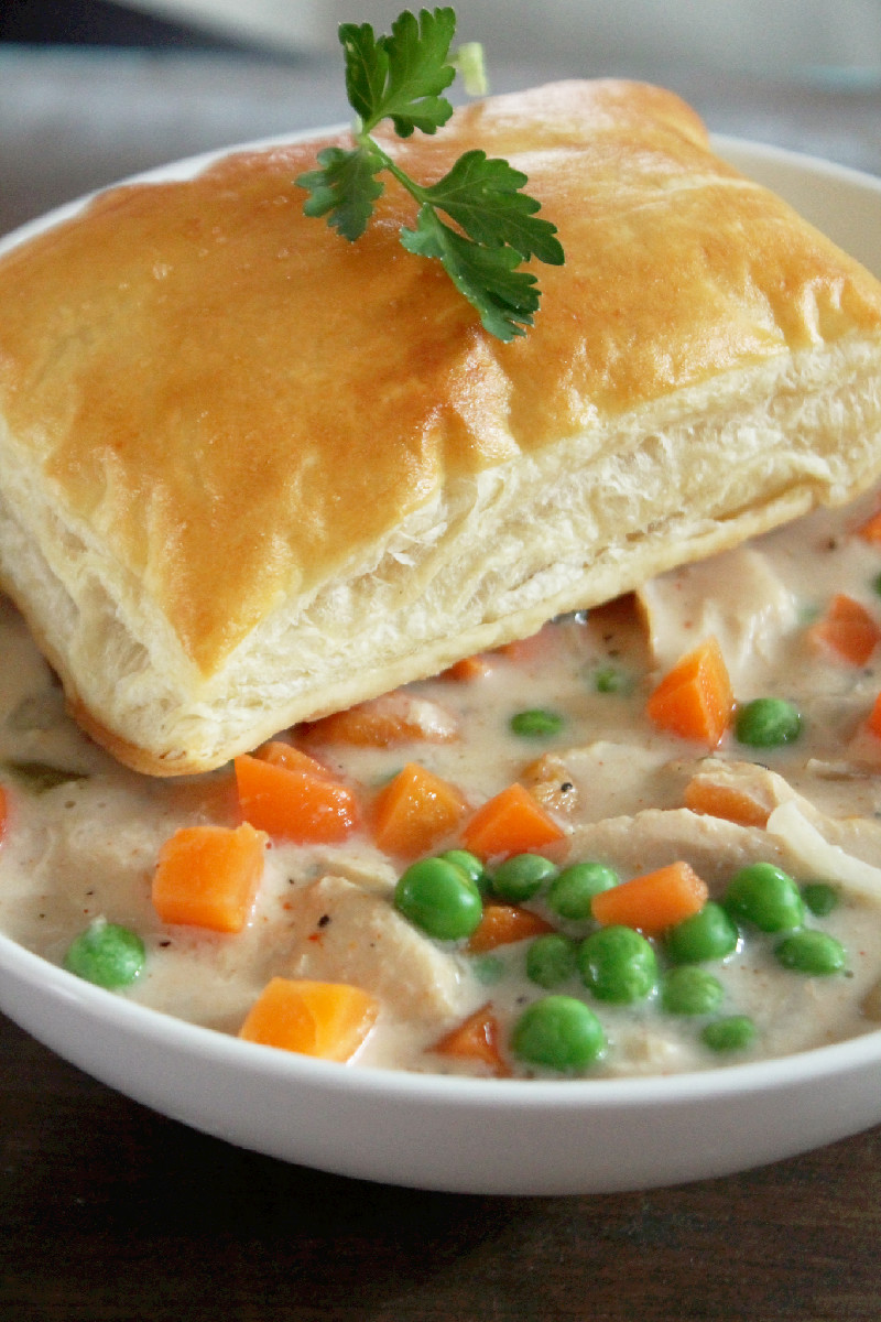 Slow Cooker Chicken Pot Pie-Creole Contessa