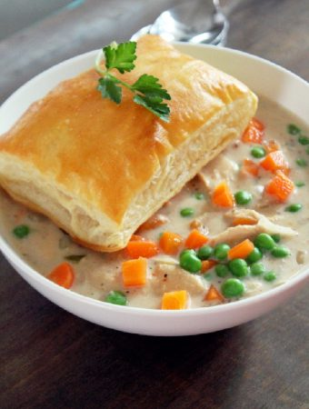 Slow Cooker Chicken Pot Pie