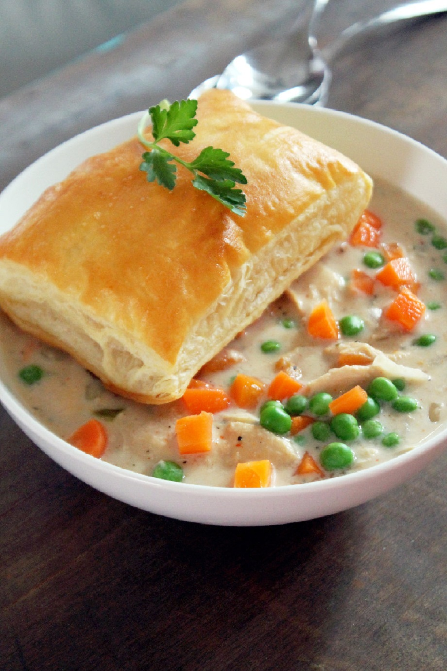 Slow Cooker Chicken Pot Pie-Creole Contessa